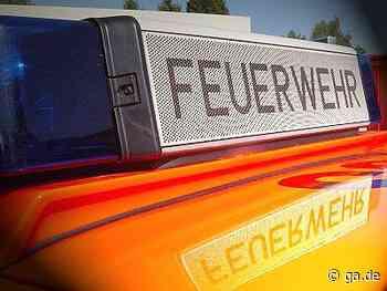 Feuer in Bad Breisig: Fahrzeuge auf Firmengelände in Brand - General-Anzeiger Bonn