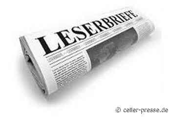 Leserbrief der Bürgerinitiative Wietze Anti Strabs - Celler Presse