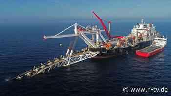 Nord Stream 2: Baugenehmigung wohl bald vor Gericht
