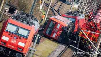 Zwei Loks krachen zusammen: Strecke Berlin-Hannover nach Unfall dicht