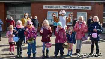"Fahrdorf: Team ""Osterhase"" überbringt 150 Kindern Ostergrüße   shz.de - shz.de"