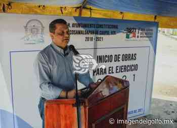 Presenta alcalde de Cosamaloapan, paquete de obras 2021 - Imagen del Golfo