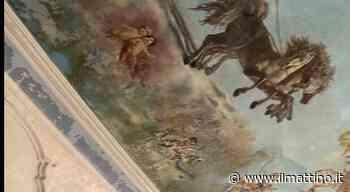 San Giorgio a Cremano, piove nel piano nobile di Villa Bruno: «Che mortificazione per questo gioiello» - Il Mattino.it - Il Mattino