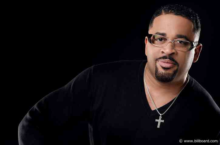 Byron Cage Notches Second No. 1 on Gospel Airplay Chart With 'I Can't Give Up'