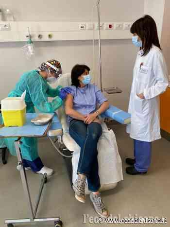 Orbassano: al san Luigi i vaccini anti-Covid per i pazienti oncologici in cura nell'ospedale - L'Eco del Chisone