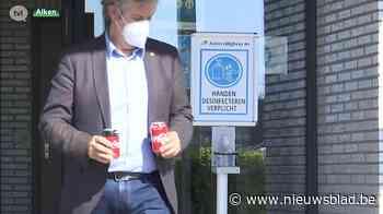 Chirurgisch mondmasker verplicht tijdens rijexamen in Alken