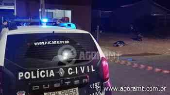 Homem é morto na calçada de casa em Primavera do Leste - AGORA MT - AgoraMT