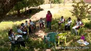 Hazañas Maestras: 'aulas a la trocha' en Coyaima, Tolima - Noticias RCN