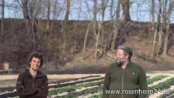 An der Landlmühle in Stephanskirchen werden die ersten Felder der Solawi Landlmühle eG bepflanzt - rosenheim24.de