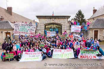 Occupation du campus historique Agrotech de Grignon. « Oui à la transition, non à la privatisation » - http://www.revolutionpermanente.fr/Section-Politique
