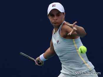 Miami Open: Ashleigh Barty Ousts Victoria Azarenka While Marin Cilic Advances - NDTV Sports