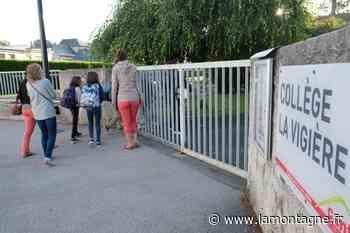 Covid-19 : le collège de La Vigière à Saint-Flour (Cantal) fermé aux élèves cette semaine - La Montagne