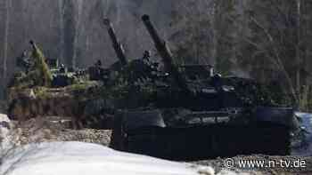 Militäraktivität besorgt NATO: Russland verlegt Truppen an Ukraine-Grenze
