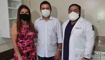 01/04 Saúde da mulher: clínica é entregue em Barra do Corda - Imirante.com