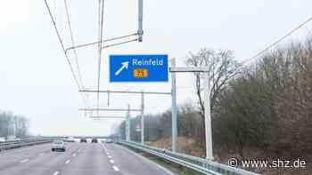 Zeugen gesucht: Oberleitung des E-Highway auf der A1 bei Reinfeld beschädigt   shz.de - shz.de