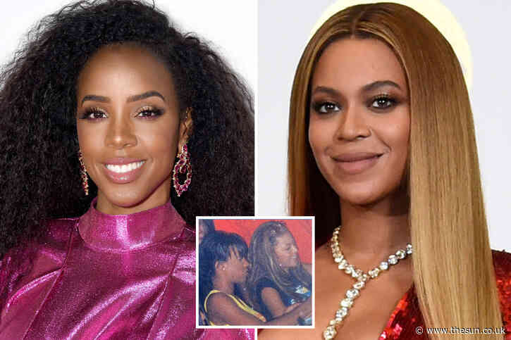 Beyonce & Destiny's Child costar Kelly Rowland unrecognizable in never-before-seen 1999 pic during struggle to find fame