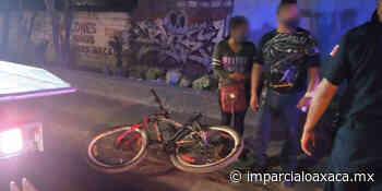 Ciclista se estrella contra auto en puente Guadalupe Victoria - El Imparcial de Oaxaca