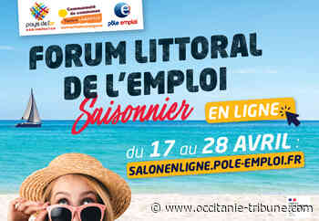 Le Grau du Roi - Forum Littoral de l'emploi Saisonnier : 100% en ligne du 17 au 28 avril - OCCITANIE tribune