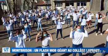 Un flash mob pour faire bouger les collégiens de Montbrison - TL7