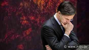 Politkrimi in den Niederlanden: Regierungschef Rutte der Lüge bezichtigt