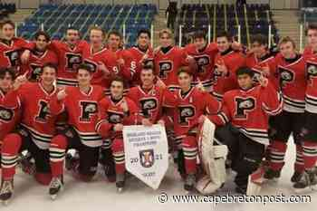 Glace Bay Panthers win Highland Region Division 1 championship - Cape Breton Post