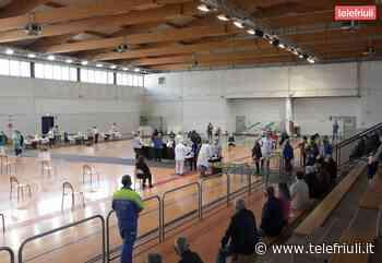Inaugurato il centro vaccinale San Vito al Tagliamento - Telefriuli