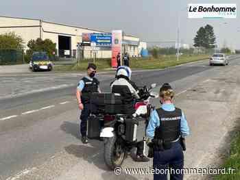 Montdidier : les gendarmes et les policiers municipaux réalisent des contrôles routiers - Le Bonhomme Picard