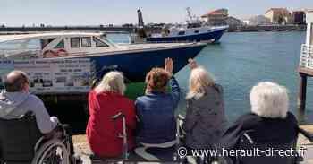 Grau d'Agde - Une promenade au Grau d'Agde pour des résidents de l'EHPAD Laurent Antoine d'Agde ! - Hérault-Direct