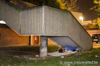 Vier leegstaande sociale woningen voorbehouden voor daklozen<BR />