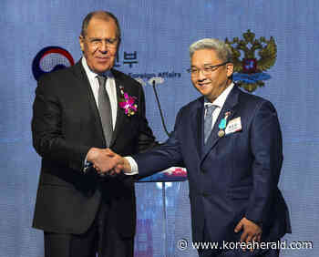 Seoul Cyber University Chairman of the Board awarded Pushkin Medal for strengthening Korea-Russia cultural ties - The Korea Herald