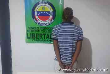 Detenido sujeto por posesión de drogas en sector Fundación CAP de Tocuyito - El Carabobeño