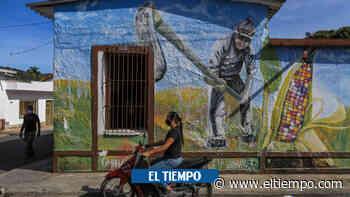 Chinácota: el pueblo que busca plasmar la paz a través de murales - El Tiempo