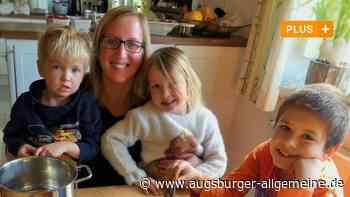 Eierfärben mit dem Naturmalkasten: Eine Tafertshoferin zeigt, wie es geht - Augsburger Allgemeine