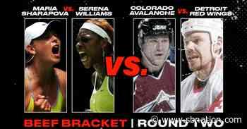 BEEF VOTE: Serena Williams vs. Maria Sharapova OR Red Wings vs. Avalanche - SB Nation