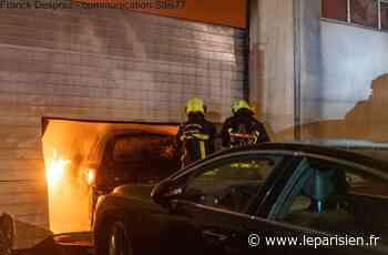 Chelles : seize véhicules détruits dans l'incendie d'un garage - Le Parisien