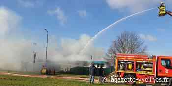 Aubergenville - Le local de l'association portugaise ravagé par un incendie - La Gazette en Yvelines
