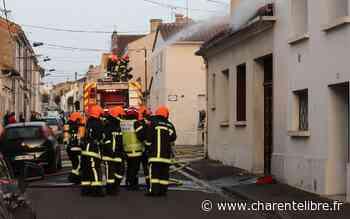Un pavillon détruit par un incendie rue De-Vigny à Angoulême - Charente Libre