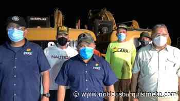 Trabajos en el Sistema Alto Tocuyo se detienen temporalmente a causa de las lluvias - Noticias Barquisimeto