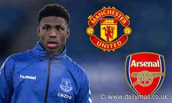 Manchester United and Arsenal 'ready to snap up 16-year-old Everton starlet Thierry Small'