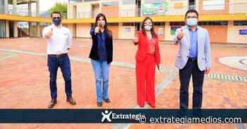 La Ministra de Educación en Tabio destacó el modelo de alternancia de este municipio - Extrategia Medios