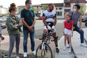 Orthez : il fait le tour de France à vélo pour sensibiliser à l'AVC - Sud Ouest