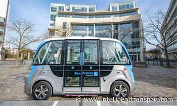 Autonomous shuttles begin free service in Saint-Quentin-en-Yvelines - Intelligent Transport