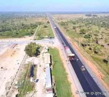 Tramo Villeta Km 40 – Alberdi tiene 80% de avance en obras de asfaltado | - ip.gov.py