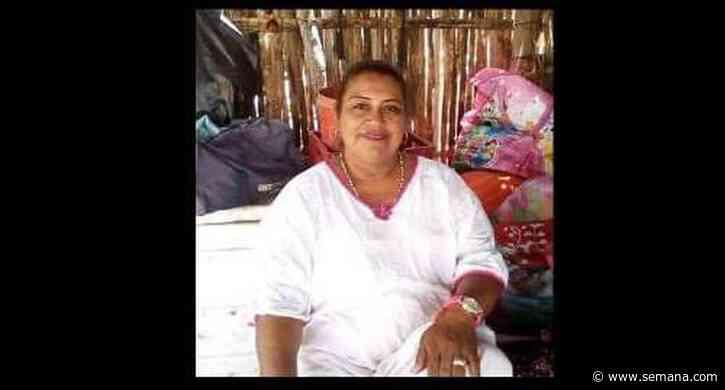 Asesinaron a la lideresa wayuu Aura Esther García en Uribia, La Guajira - Semana