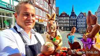 Kunstvolle Schokohasen werden für Fritzlarer Hospital zum Heiligen Geist versteigert - HNA.de