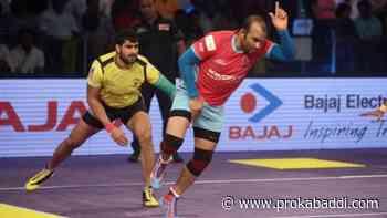 Top 5 most thrilling matches from Season 4 of vivo Pro Kabaddi - Pro Kabaddi