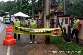 São João Nepomuceno implanta barreiras sanitárias nas entradas da cidade - Tribuna de Minas - Tribuna de Minas