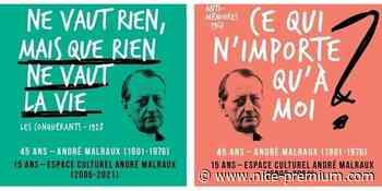 """""""Dixit Malraux"""" : une exposition urbaine à Villeneuve Loubet ! - Nice Premium"""