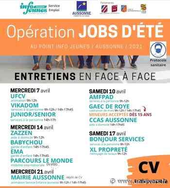 Opération « Jobs d'été » 2021 – Du 7 au 21 avril Aussonne mercredi 7 avril 2021 - Unidivers