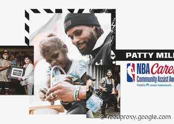 SAN ANTONIO'S PATTY MILLS RECEIVES FEBRUARY NBA CARES COMMUNITY ASSIST AWARD PRESENTED BY KAISER PERMANENTE